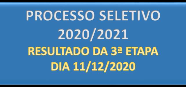PROCESSO SELETIVO 2020-2021